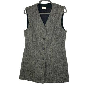 United Colours of Benetton long wool grey vest